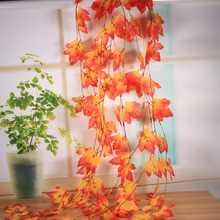 10x Artificial Fall Maple Leaf Decorative Flowers Garland For Autumn Weddings & Parties Garden Decor Decoration Hot Sale
