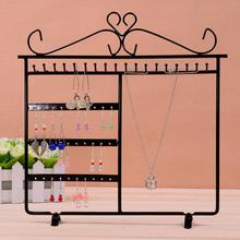 Earrings Bracelet Necklace Jewelry Display Rack Metal Stand Organizer Holder for Home Organizing Supplies
