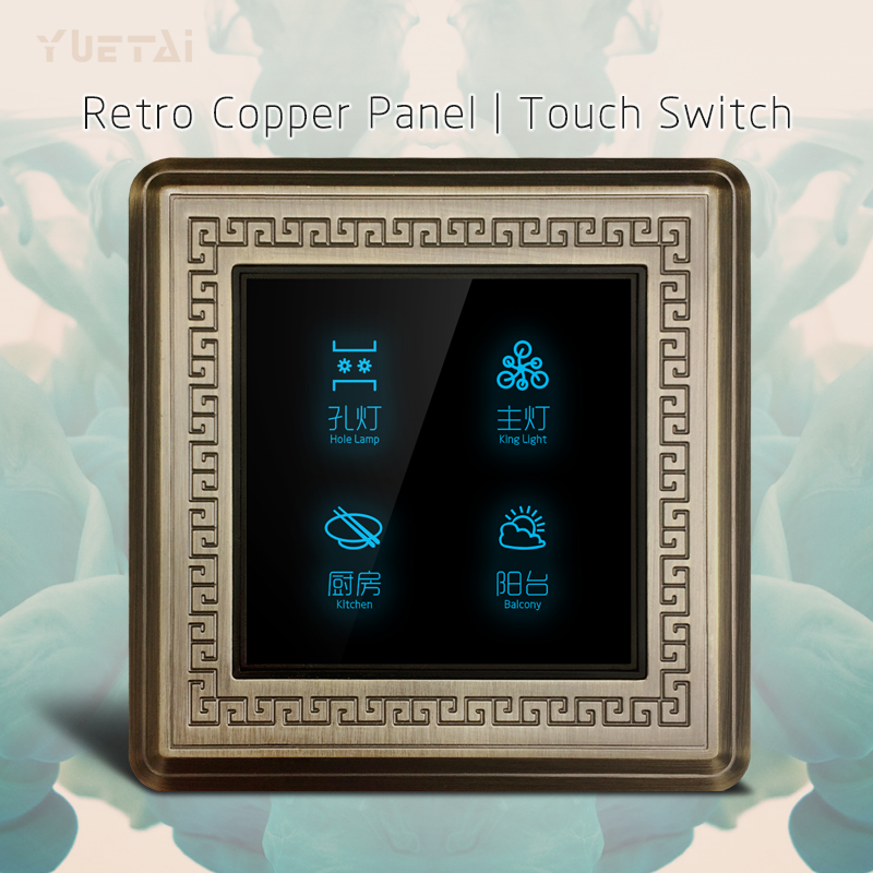 110 220V light touch switch on off 3 gang 1way 2way smart wall switch for  home light controler<br>