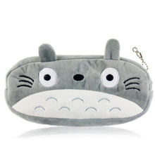 Popular 20CM Approx. TOTORO Plush Toy BAG , Plush Cover Coin BAG Purse Design Keychain Plush Toy(China)