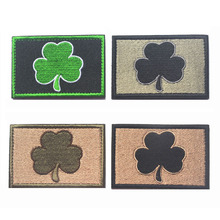 Subdued Irish Tactical Patches spot embroidery the tactical military patches badges for clothes clothing HOOK/LOOP 7.6*5CM