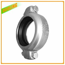 "DN 80 3""  88.9 mm 1200 psi Stainless Steel SS304 Pipe Clamp Flexible Coupling"
