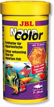 JBL fish food Novo color flakes float on water tropical discus guppy cichild small baby fish(China)