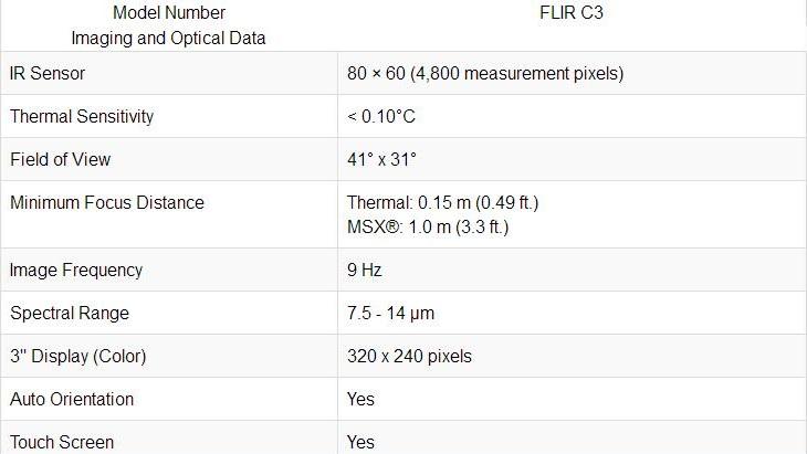 Freeshipping FLIR C2/ C3-Wi-Fi All New Original Infrared Thermal Imager IR Camera Heat Sensor FLIR C2/C3