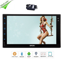 Free Rear Camera in Dash Car PC Tablet Automotive NO DVD Player Double 2 din Car Stereo for GPS Navigation Head Unit  1080P Wifi