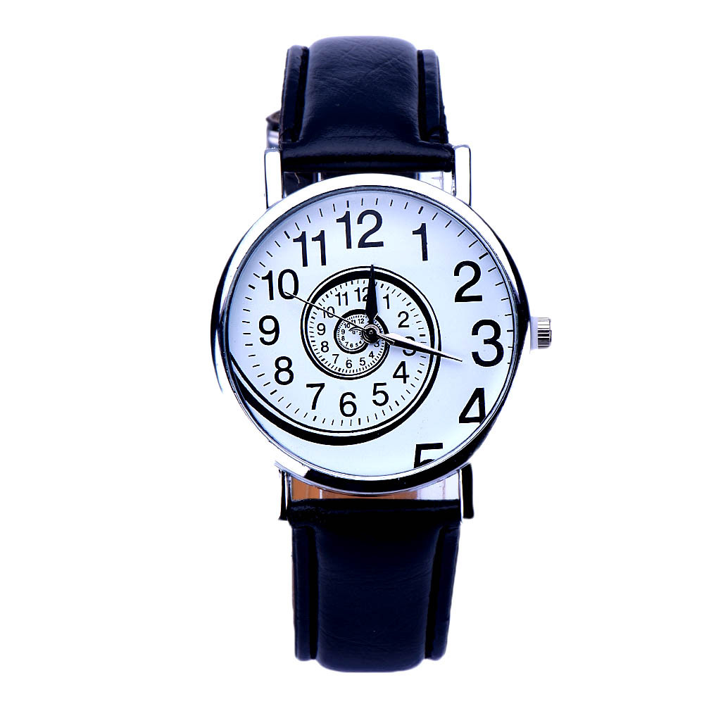 Relogio Feminino 2016 Fashion Women Swirl Pattern Leather Analog Quartz Wrist Watch Casual Wristwatches Relogio Masculino<br><br>Aliexpress