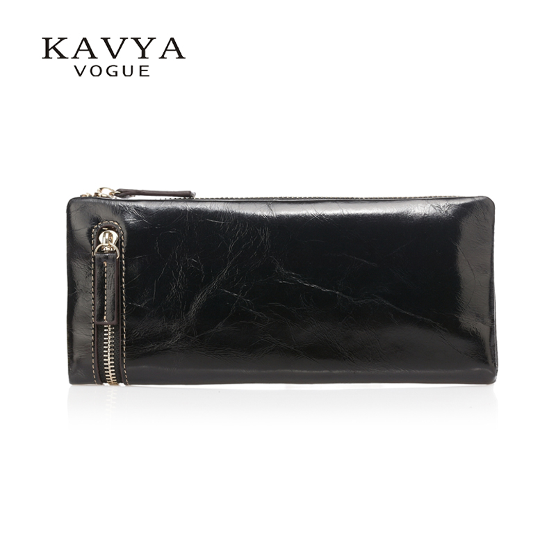 ON SALE!  Free Shipping 100% genuine leather wallet Simple Fashion Long Section purse for men and women,Lady Clutch wallet<br><br>Aliexpress