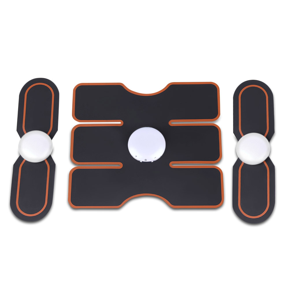 3pcs Smart Fitness Gear Electrical Muscle Stimulator Exercise Tools for Slimming Body<br>