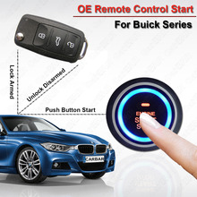 Push Button Start Stop Car Alarm for Buick Keyless Entry System Door Lock unlock Automatically Original Remote Start Car CARBAR