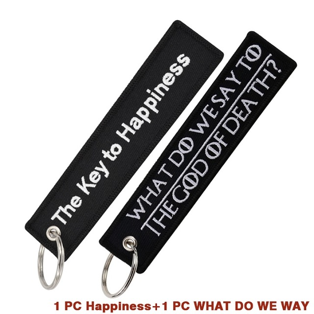 Black-Keychain-Chaveiro-Embroidery-Key-Chains-for-Motorcycle-Key-Tag-WHAT-DO-WE-SAY-TO-THE.jpg_640x640
