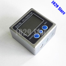 Digital Protractor Metal  Inclinometer  Level Measuring Box Tool Electronic Angle Meter Angle Finder Angle Gauge With A Bag