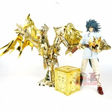 Great Toys Saint Seiya Myth Cloth SOG EX Gemini soul of gold god Saga Kanon + Plain Cloth + Pandora box Cavaleiros do Zodiaco