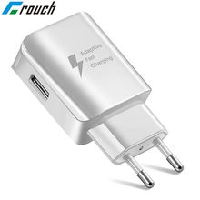 Crouch Universal USB Phone Charger Fast Charge Xiaomi redmi note 5 iphone 7 X Sumsang Huawei P20 EU/US Mobile Phone Charger