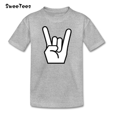 Rock N Roll Star children's T Shirt Cotton O Neck Short Sleeve Baby Infant Tshirt Tops Boy Girl 2017 For Sale T-shirt For Kid