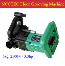 Floor Grooving Machine with automatic dust suck device for Concrete Brick fast FREE shipping |granite Cutting Groove saw machine(China)