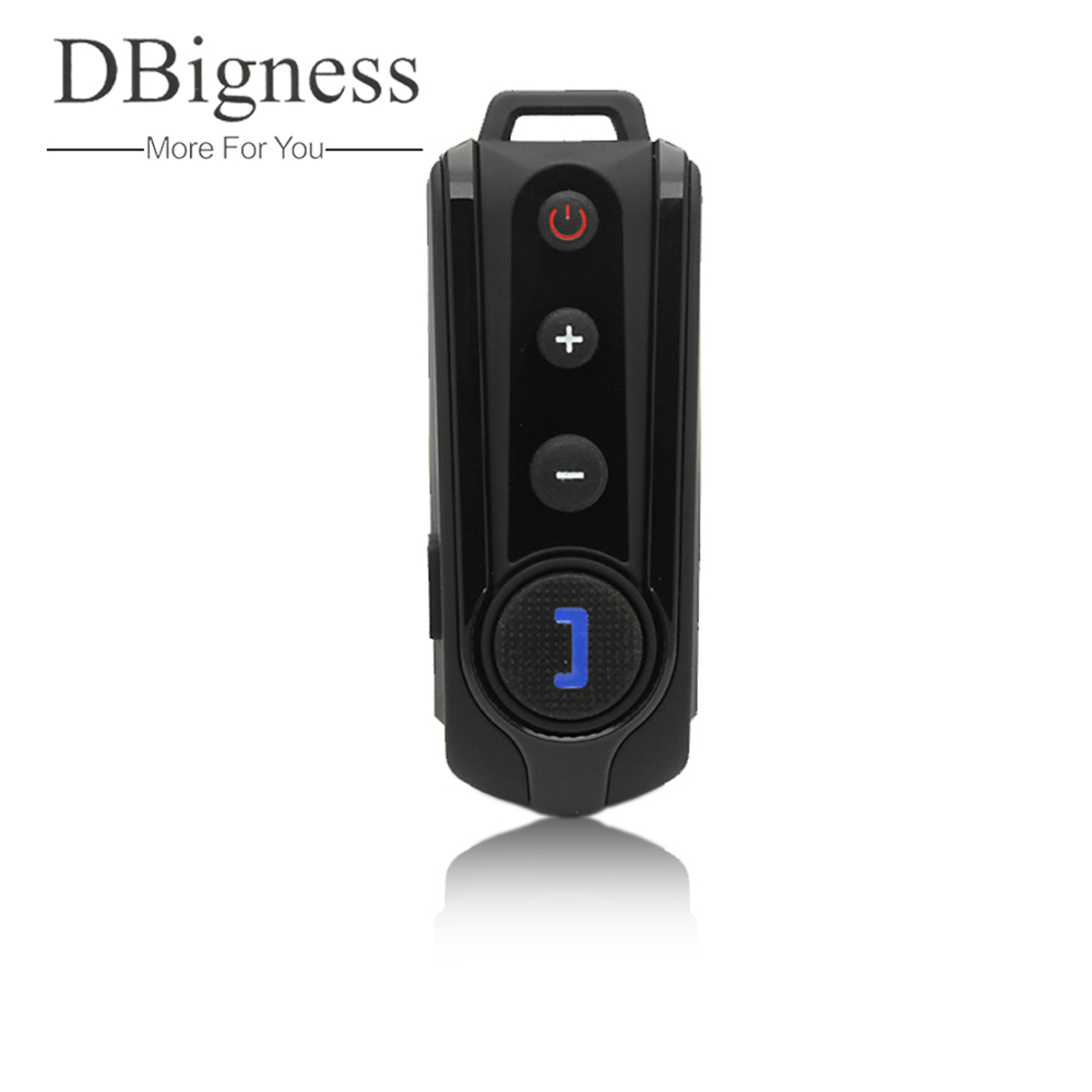 Dbigness 1000M BT-S1 Interphone Bluetooth Intercom Motorcycle Helmet Headset FM Radio<br>