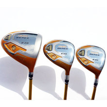 New mens Golf clubs HONMA S-03 4 star Golf wood set driver+fairway wood Graphite Golf shaft R or S flex Free wood clubs shipping