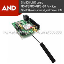 SIM808 kit for Arrduino,GSM GPS Shield development board,Wireless Data Transmission Module SIM808,Bluetooth version