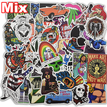 Hot Sell 100 Pcs Mixed Funny Stickers for Car Motorcycle Laptop Luggage Phone Home Decor Fashion Vinyl Decals Cool DIY Sticker(China)