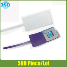 eas soft label for jewelry and glasses 3X3cm adhesive eas security tag for eas detector 500 piece