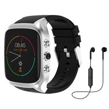 "X02 smart watch 1,54 ""экран ROM4GB/RAM512MB поддержка sim-карты Android5.1 Bluetooth 3g камера с wi-fi и GPS PK ZGPAX S8 QW09 часы(China)"