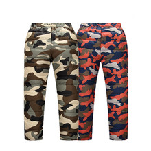 Autumn Winter Boys Girls Pants Children Clothing Bottom Warm Down Casual Pants Baby Girls Trousers Boys Pants Kids Clothes 3-11T(China)