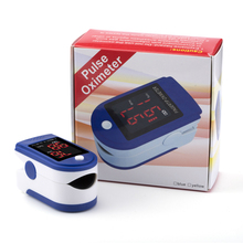 Promotion Digital Fingertip Pulse Oximeter Blood Saturation Monitor SPO2 PR with Case Blood Oxygen Health Monitoring LED Display(China)