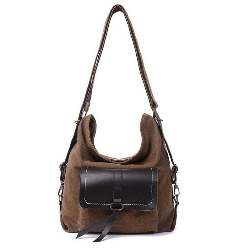 2017 Canvas patchwork handbag Women Messenger Bags 2017 Multipurpose Shopping Totes Handbags Casual Shoulder Bag Bolsas W725<br><br>Aliexpress