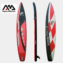 427x71x15cm inflatable surfboard stand up paddle board AQUA MARINA RACE speed fast sup board surf board bag leash paddle fin(China)