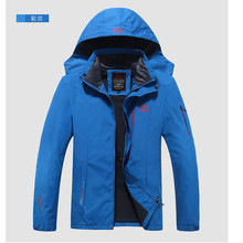 Spring Autumn Mens Softshell Hiking Jackets For Waterproof Windproof best outdoor travel jackets