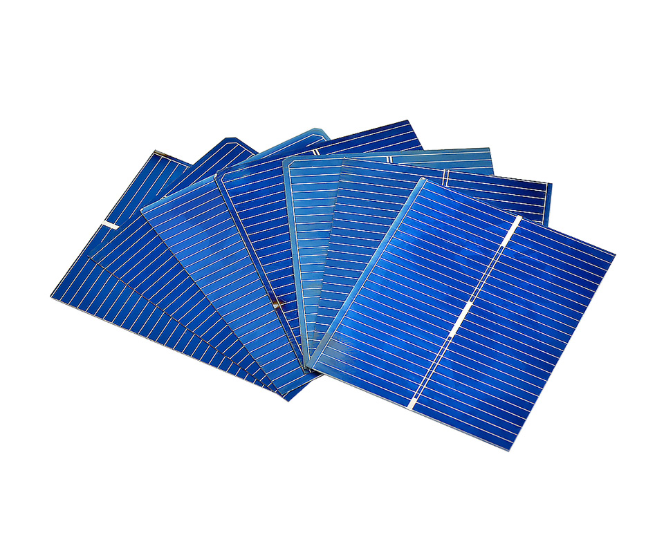 Aoshike 100pcs 0.5V 0.2W Polycrystalline Solar Panel 39*31.2 mm Solar Cell Silicon DIY Solar Charger Battery Painel Solar 2