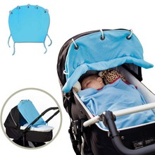 Baby Stroller Accessories Cotton Baby Carriage Sunshade Cloth Curtain For Stroller Pram Sunshade Buggy Canopy Cover