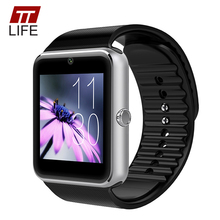 TTLIFE Brand Bluetooth Smart Watch Men GT08 Pedometer Waterproof Relogio Masculino Camera SIM Card Women Watches for IOS Android