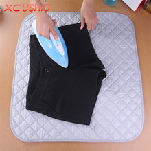 Portable Folding Household Cotton Ironing Pads Clothes Ironing Board Cover Mat 48x85/60x55cm Travel Replacement Ironing Pad(China)