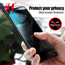 H&A Privacy Protection Full Film Tempered Glass For iPhone 6 6s 7 Screen Protector For iphone 7 7 plus Glass protective Cover