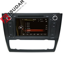 One Din 7 Inch Car DVD Player For BMW/1 Serie E81/E82/E88 2004-2011 Canbus 3G USB Radio GPS Navigation BT 1080P Ipod Map