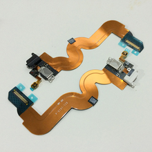 10Pcs Original Charging Dock Charger Port Headphone Audio Home Button Flex Cable for iPod Touch 5 5th Replacement Parts(China)