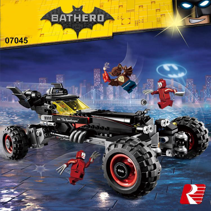 559Pcs Lepin 07045 Genuine Superhero Movie Series The Batman Robbin`s Mobile Set Building Blocks Bricks Set Toys 70905<br>