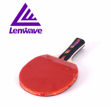 Table tennis racket Lenwave brand Ping pong paddle high quality table tennis  rubber racket 0313 new style table tennis racket
