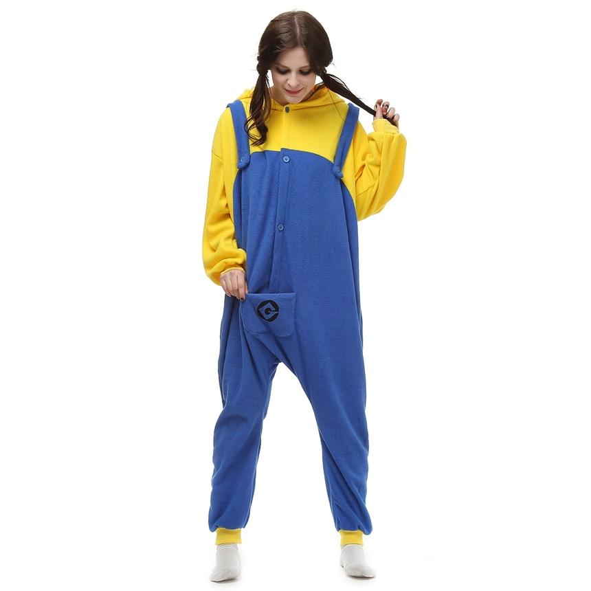 Adults-Polar-Fleece-Kigurumi-Minion-Cosplay-Costume-Cartoon-Animal-Onesie-Pajamas-Halloween-Carnival-Masquerade-Party-Jumpsuit (3)