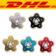 Buy 100Pcs/Lot Five Gears Top Gyro Fidget Spinner Metal brass metal Adults child Anti Stress Toys Autism ADHD EDC Hand Spinner gift for $718.99 in AliExpress store