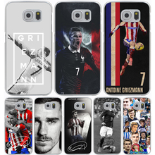 Antoine Griezmann Soccer Star Hard Transparent Cover Case for Galaxy A3 A5 7 8 J5 J7 & Note 5 4 3 2 & Grand 2 Prime