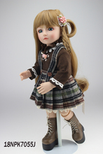 Hot-selling beautiful SD/BJD doll 18inch top quality handmade doll for chileren