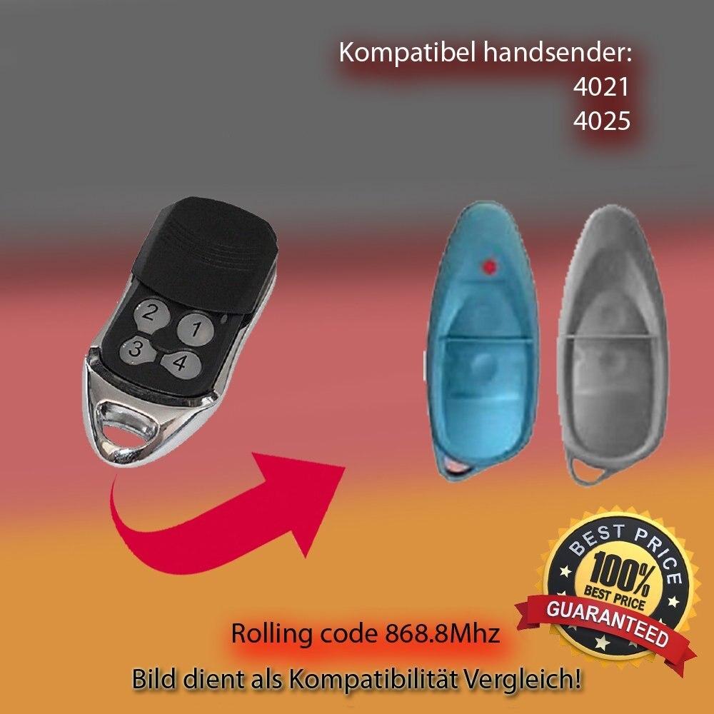 APERTO 4021 TX03-868-4 Kompatibel Handsender 868.8 MHz keyfob Ersatz Sender