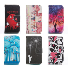 PU Leather Case For Samsung Galaxy S4 GT i9500 i9505 GT-i9505 GT-i9500 S 4 Flip Wallet Phone Cover for Samsung S4 Fundas Capa(China)