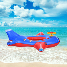 Kids Swimming Rings Baby Inflatable Swim Ring Floating Lifebuoy Cute Pool Float Child Aircraft Toys Seat Boat 2017 New Arrival