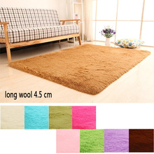 Hot Sale Rugs Bedside Bedroom Floor Mat Indoor Living Room Carpet Soft For Tea Table Candy Colors