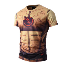 Hot Reverse Flash TV 3D Print T-shirt Eobard Thawne Sexy Unisex Tights Tee Shirts Short Casual Homme Loose Kid Comfortable Tops