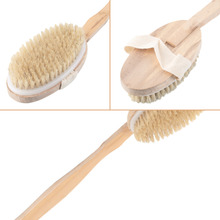 High Quality Long Handled Body Bath Shower Back Brush Scrubber Massager Body Brush Massager Bath Shower Back Spa Scrubber