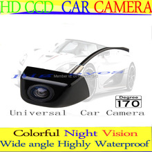 Factory Price HD CCD Car Rearview Camera Waterproof night vision Wide Angle Luxur car rear view camera reversing backup camera(China)